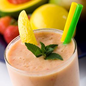 Papaya Mango Smoothie Recipe!