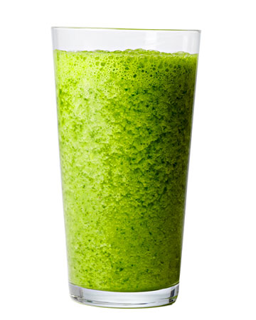 A Green Smoothie!